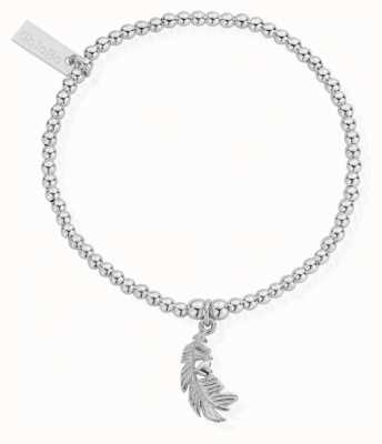 ChloBo Womens | Cute Charm Heart In Feather | Bracelet SBCC596