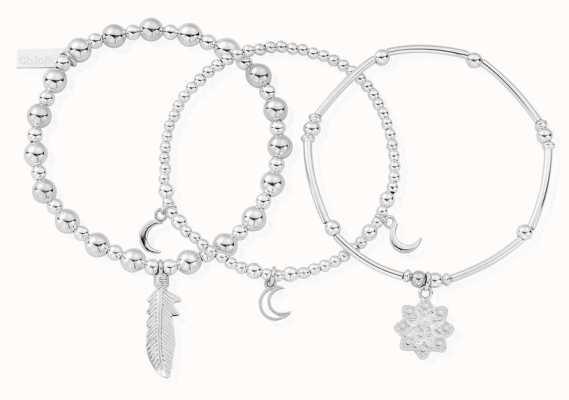 ChloBo Namaste Set Of 3 | Bracelets SBSTA3N