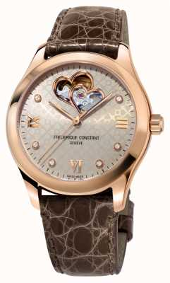Frederique Constant | Womens | Heart Automatic | Rose Gold Tone FC-310LGDHB3B4