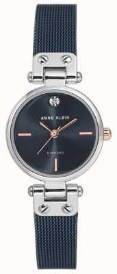 Anne Klein | Womens Cable Watch | Navy Tone | AK-N3003BLRT