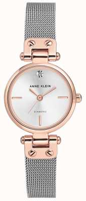 Anne Klein | Womens Cable Watch | Silver Tone | AK/N3003SVRT