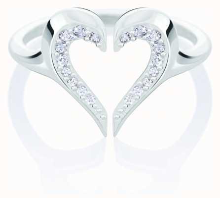 Chamilia Heart Silhouette Ring   Swarovski Zirconia   Large 1125-0633