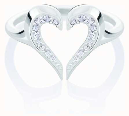 Chamilia Heart Silhouette Ring | Swarovski Zirconia 1125-0632