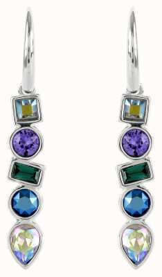 Adore By Swarovski Mixed Crystal French Wire Earrings Silver 5375525