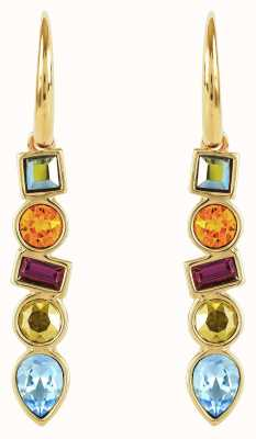 Adore By Swarovski Mixed Crystal French Wire Earrings Gold 5375526
