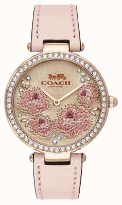 Coach | Womens Park Watch | Pink Leather Strap | 14503285