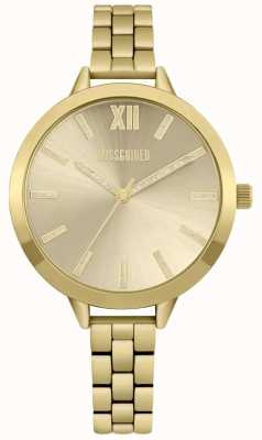 Missguided | Ladies Watch | Gold Stainless Steel | MG005GM