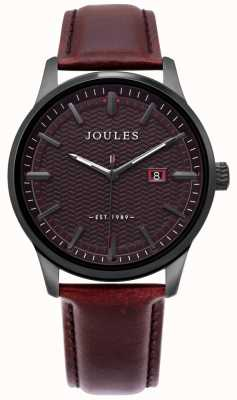 Joules | Mens Marfield Watch | Brown Leather Strap | Brown Dial | JSG009BRB