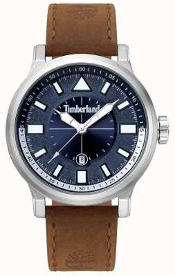 Timberland | Mens Driscoll | Brown Leather Strap | Blue Dial | 15248JS/03