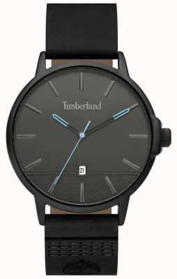 Timberland | Mens Rollinsford | Black Leather Strap | Black Dial | 15637JYB/13