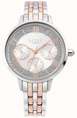 Lipsy | Womens Two Tone Stainless Steel | Silver Dial | LP635