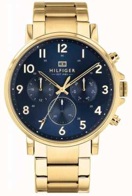 Tommy Hilfiger | Mens Gold Daniel Watch | 1710384
