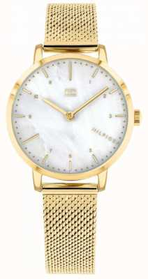 Tommy Hilfiger |Women's Gold Mesh Lily Watch | 1782043