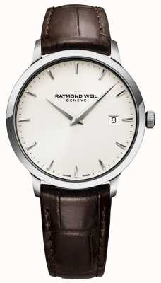 Raymond Weil | Mens Brown Leather Toccata Watch | 5488-STC-40001
