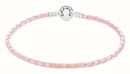 Chamilia Blush Leather Small Bracelet 1030-0163