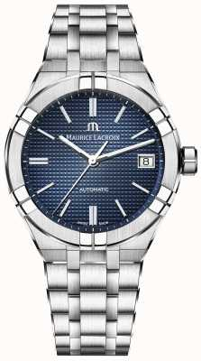 Maurice Lacroix Aikon Automatic 39mm Blue Dial Stainless Steel AI6007-SS002-430-1