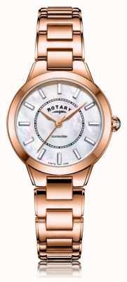Rotary | Ladies Rose Gold Bracelet | LB05379/41