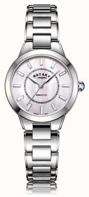 Rotary | Ladies Stainless Steel Bracelet | LB05375/07