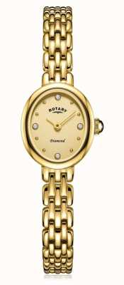 Rotary | Ladies Gold Plated Bracelet | LB05151/03/D