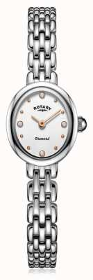 Rotary   Ladies Stainless Steel Bracelet   LB05150/02/D