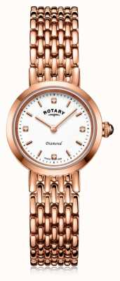 Rotary | Ladies Rose Gold Bracelet | LB00901/70/D