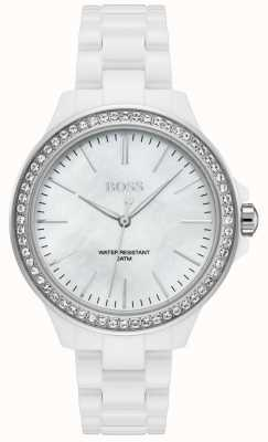BOSS | Ladies White Bracelet | White Dial | 1502454
