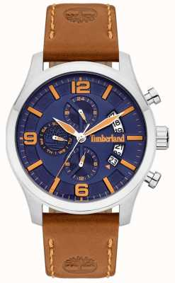 Timberland | Mens Blake | Tan Leather Strap | Blue Dial | 15633JS/03