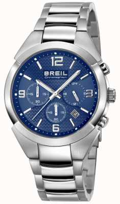 Breil | Gents Stainless Steel Strap | Blue Dial | TW1328