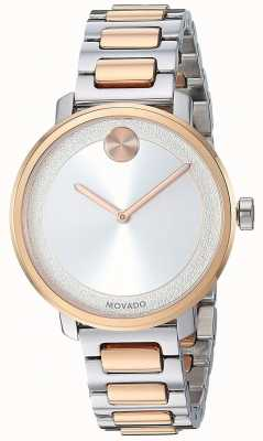 Movado Bold | Two Tone Stainless Steel Strap | 3600504