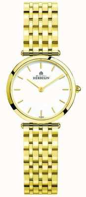 Michel Herbelin Women's Epsilon Stainless Steel Wristwatch 17116/BP11