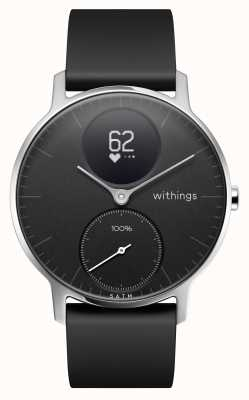 Withings Steel HR 36mm Black Silicone Strap HWA03-36BLACK-ALL-INTER
