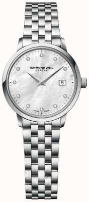 Raymond Weil | Womens Toccata Diamond | Stainless Steel Bracelet | 5985-ST-97081