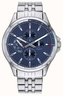 Tommy Hilfiger | Men's Stainless Steel Bracelet | Blue Dial | Chronograph | 1791612