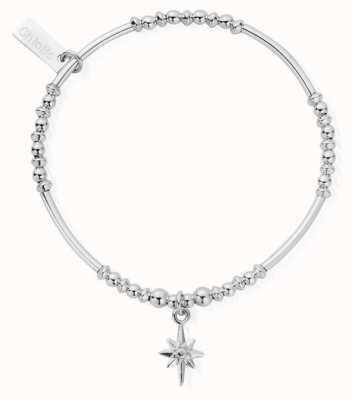 ChloBo   Sterling Silver North Star Bracelet SBPROMOSS19