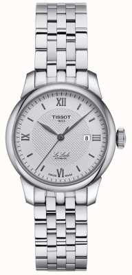 Tissot | Womens Le Locle | Stainless Steel Bracelet | Silver Dial | T0062071103800