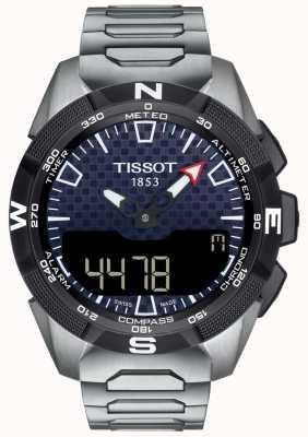 Tissot | Mens T-Touch Expert Solar II | Titanium Bracelet | T1104204405100