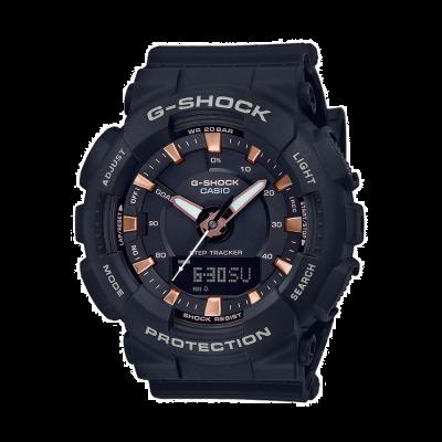 Casio G-Shock Step Tracker Black Resign Strap GMA-S130PA-1AER