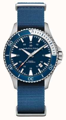 Hamilton | Khaki Navy Scuba Automatic | Blue Fabric Strap | Blue Dial H82345941