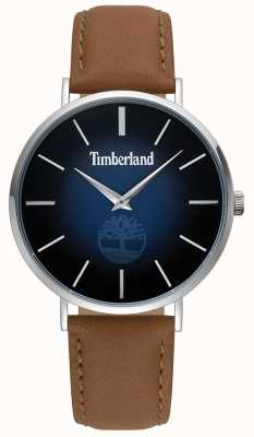 Timberland | Mens Rangeley | Brown Leather | Blue Dial | 15514JS/03