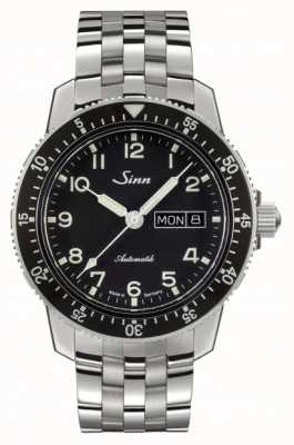 Sinn 104 St Sa A Classic Pilot Watch Stainless Steel Bracelet 104.011 FINE LINK BRACELET