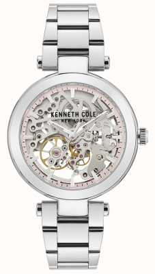 Kenneth Cole | Womens Automatic | Stainless Steel Bracelet | Silver Dial KC50799001