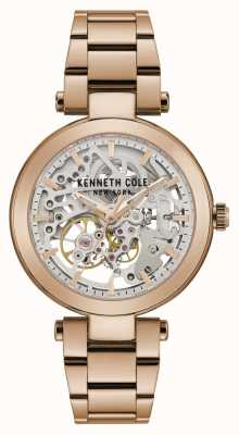 Kenneth Cole | Womens Automatic | Rose Gold Bracelet | Rose Gold Dial | KC50799002