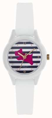 Radley | Womens 'Watch It ' | White Silicone Strap | Printed Dial | RY2814