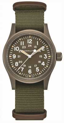 Hamilton | Khaki Field Mechanical | Brown Dial | H69449961