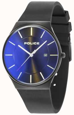 Police Mens New Horizon Watch Silicone Strap Black 15045JBCB/02PA