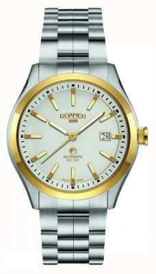 Roamer | Automatic RD100 | Stainless Steel Bracelet | White Dial | 951660 47 15 90