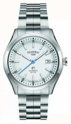 Roamer | Automatic RD100 | Stainless Steel Bracelet | White Dial | 951660 41 25 90