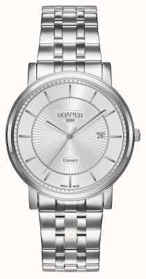 Roamer | Classic Line | Stainless Steel Bracelet | Silver Dial | 709856 41 17 70