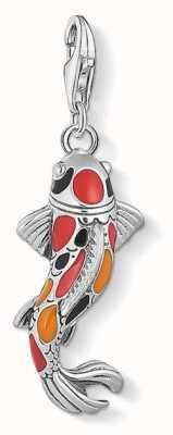 Thomas Sabo Charm Pendant 'Koi' 925 Sterling Silver 1702-664-7
