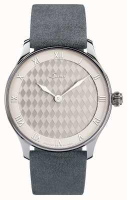 Sinn 1746 Heimat Classic   Grey suede strap   1746.012